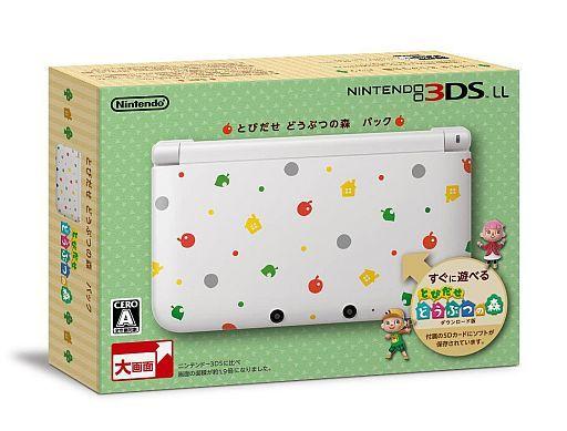 任天堂3DSLL とびだせどうぶつの森パック
