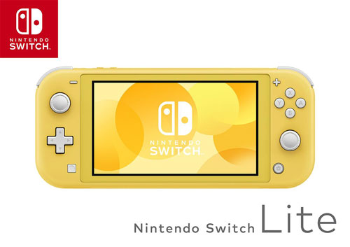 Ninetndo Switch Lite イエロー